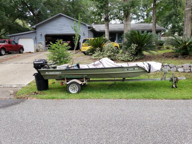 14.5 ft alumacraft jon boat w/15 hp in Okaloosa County, Florida